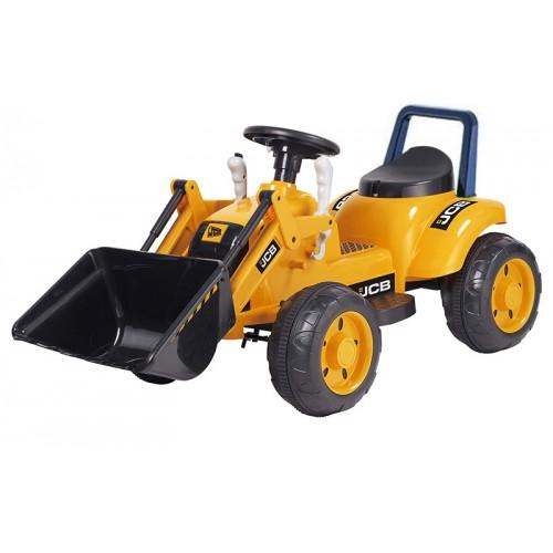 Ηλεκτροκίνητος Παιδικός Εκσκαφέας 6V σε Κίτρινο 48420
