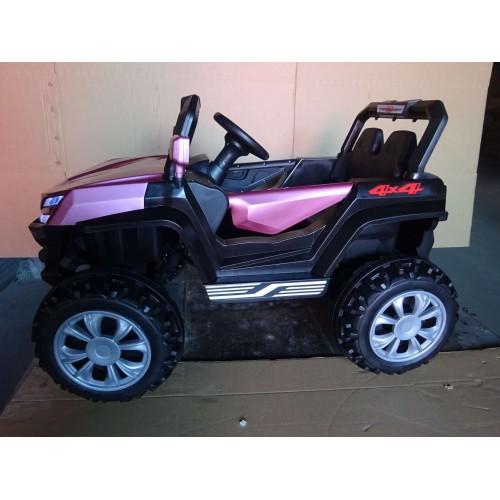 Ηλεκτροκίνητο Παιδικό Αυτοκίνητο 12V Mountain Jeep Buggy σε Ροζ 3980007 Ηλεκτροκίνητα αυτοκίνητα