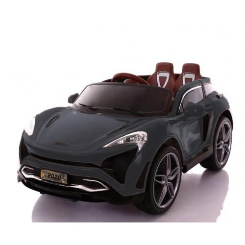 Ηλεκτροκίνητο Παιδικό Αυτοκίνητο Τύπου Porsche 12V με δερμάτινα καθίσματα και ελαστικά τύπου Αυτοκινήτου σε Μαύρο χρώμα 133820 Ηλεκτροκίνητα αυτοκίνητα