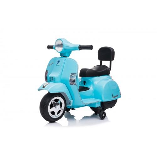 Ηλεκτροκίνητη παιδική Vespa Licensed PX150 6V σε μπλε 13008 ΠΑΙΧΝΙΔΙΑ