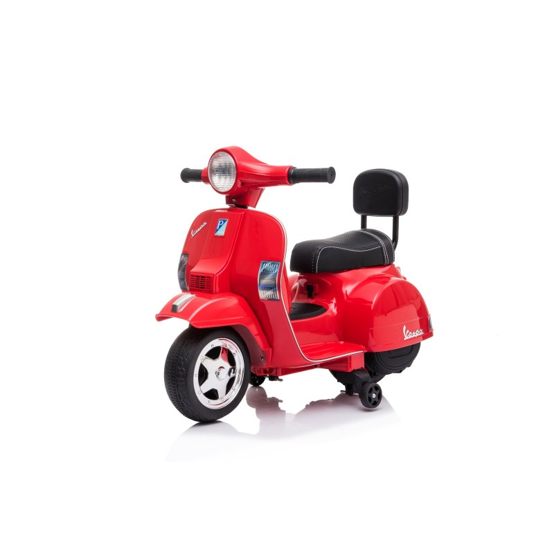 Ηλεκτροκίνητη παιδική Vespa Licensed PX150 6V σε κόκκινο 13008