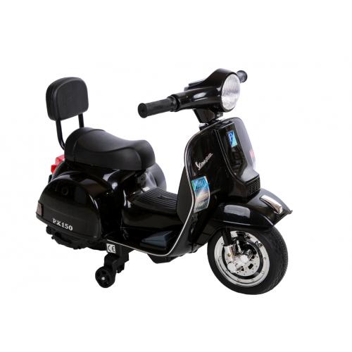 Ηλεκτροκίνητη παιδική Vespa Licensed PX150 6V σε Μαύρο 13008 ΠΑΙΧΝΙΔΙΑ