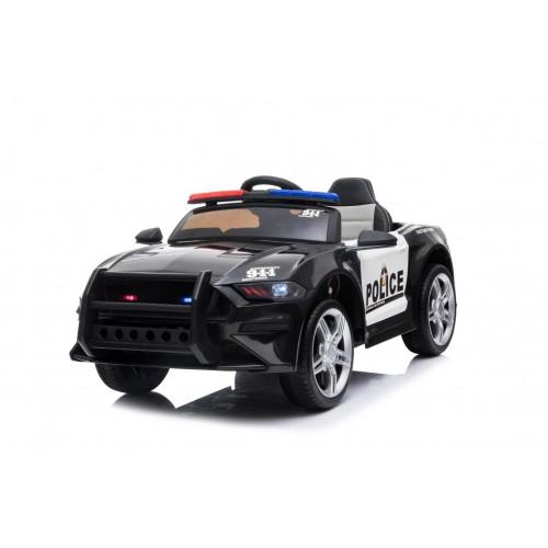 Ηλεκτροκίνητο Παιδικό Αυτοκίνητο Αστυνομίας - Περιπολικό 12V σε Μαύρο Χρώμα 950007 Ηλεκτροκίνητα αυτοκίνητα