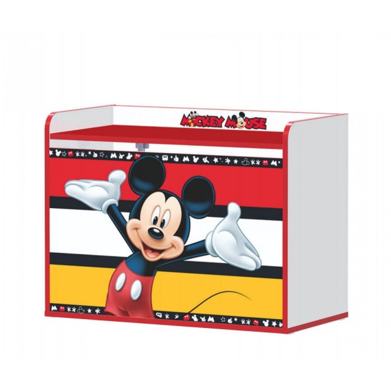 bb77e9864e5 Παιδικό Ξύλινο Κουτί Παιχνιδιών Mickey mouse 80Μx40Πx61Υ C-00164 ΠΑΙΔΙΚΟ  ΔΩΜΑΤΙΟ