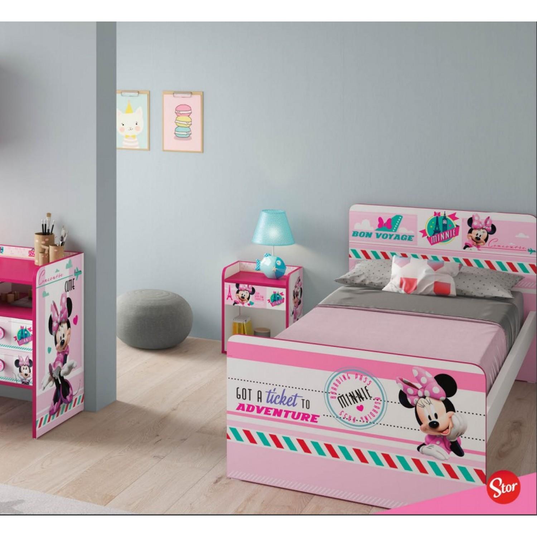 f24fbaa4732 ... Παιδικό Κρεβάτι Minnie mouse Μονό 180Μx100Πx80Υ KR-00179 ΠΑΙΔΙΚΟ  ΔΩΜΑΤΙΟ ...
