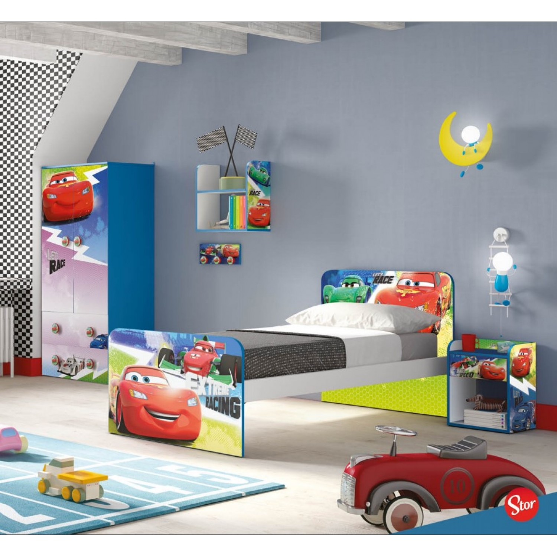 d3754086c3b ... Παιδικό Κρεβάτι Cars Μονό 180Μx100Πx80Υ KR-00219 ΠΑΙΔΙΚΟ ΔΩΜΑΤΙΟ ...