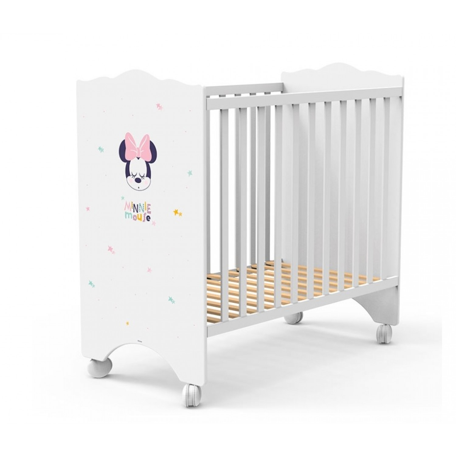 e890639e2d9 Βρεφικό Κρεβάτι-Κούνια Baby Minnie Mouse 120Μx65,5Πx120Υ KR-00232 ΠΑΙΔΙΚΟ  ΔΩΜΑΤΙΟ
