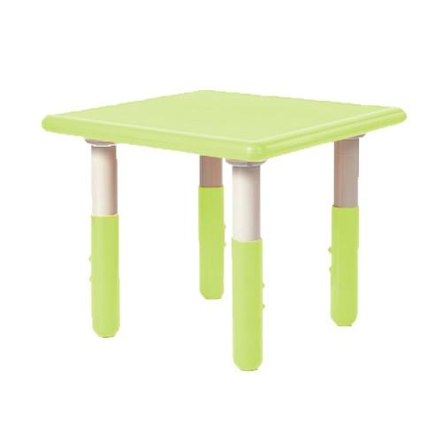 Παιδικό Τραπέζι πλαστικό τετράγωνο με ρύθμιση ύψους 60x60cm πράσινο TB1247 ΠΑΙΧΝΙΔΙΑ