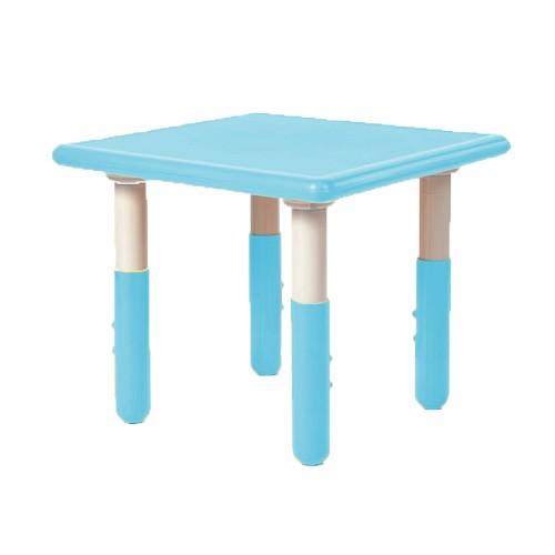 Παιδικό Τραπέζι πλαστικό τετράγωνο με ρύθμιση ύψους 60x60cm μπλε TB1247 ΠΑΙΧΝΙΔΙΑ