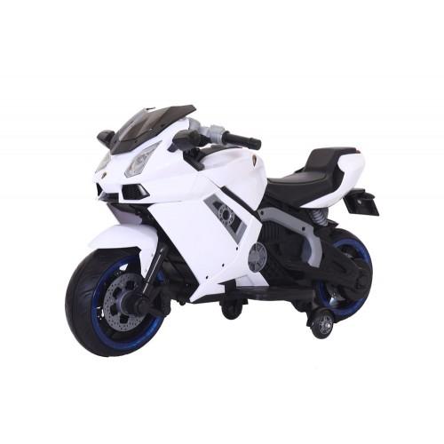 Ηλεκτροκίνητη μηχανή Τύπου Ducati 6V 3440001A σε Λευκό Forall ΠΑΙΧΝΙΔΙΑ