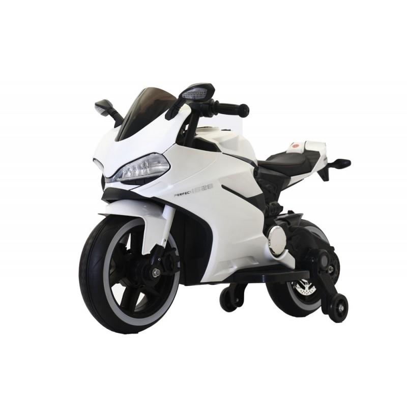 Ηλεκτροκίνητη μηχανή 1628PERFECT 6V σε Λευκό Forall 3930026A ΠΑΙΧΝΙΔΙΑ