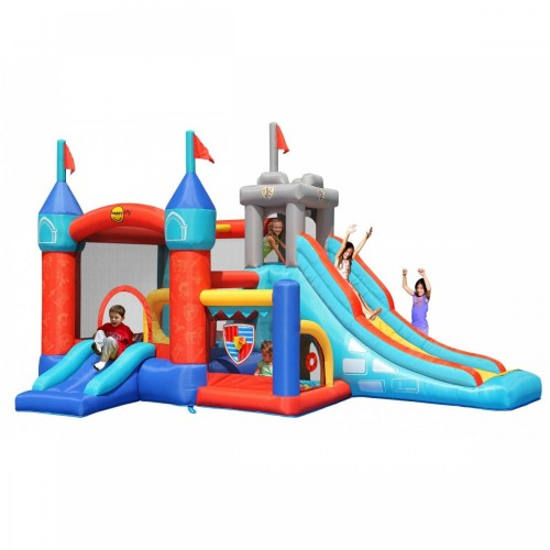 13 in 1 Happy Hop Inflatable Tramboline with Slide and Ball Pool Bouncy Castle 9021 ΠΑΙΧΝΙΔΙΑ