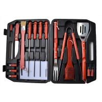17 τεμ Εργαλεία για μπάρμπεκιου Ανοξείδωτο χάλυβα BBQ