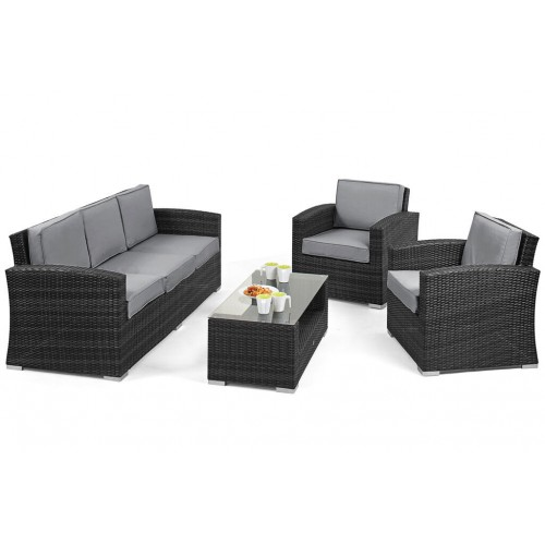 Fabulous Set Of Garden Furniture Terrace 140X80X71Cm Dining Room Machost Co Dining Chair Design Ideas Machostcouk