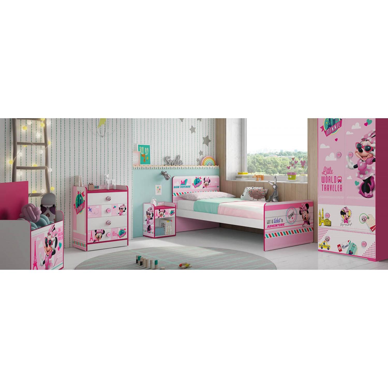 6b4241d2350 ... Παιδικό Κρεβάτι Minnie mouse Μονό 180Μx100Πx80Υ KR-00179 ΠΑΙΔΙΚΟ ΔΩΜΑΤΙΟ  ...