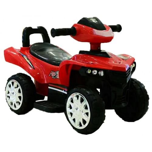 Ηλεκτροκίνητη Γουρούνα Παιδική ATV 6V Κόκκινη Forall 1388 Ηλεκτροκίνητα αυτοκίνητα