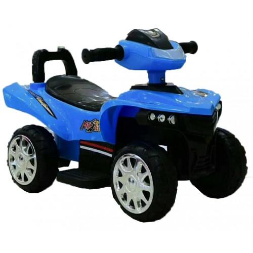Ηλεκτροκίνητη Γουρούνα Παιδική ATV 6V Μπλε Forall 1388 Ηλεκτροκίνητα αυτοκίνητα