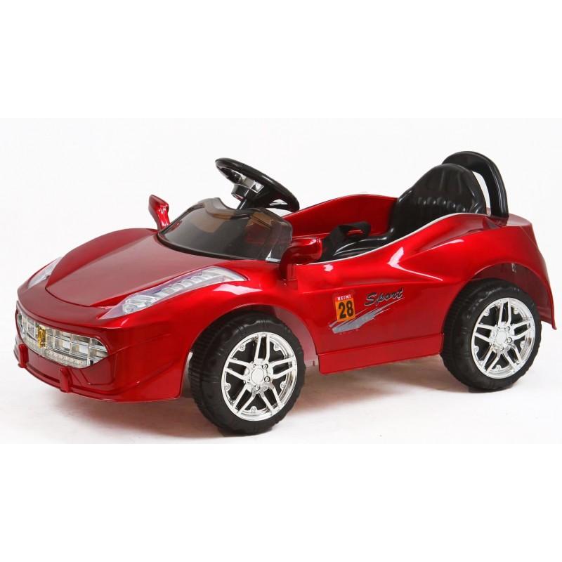Ηλεκτροκίνητο Παιδικό Αυτοκίνητο Τύπου Ferrari 6V  Κόκκινο 159609 Ηλεκτροκίνητα αυτοκίνητα