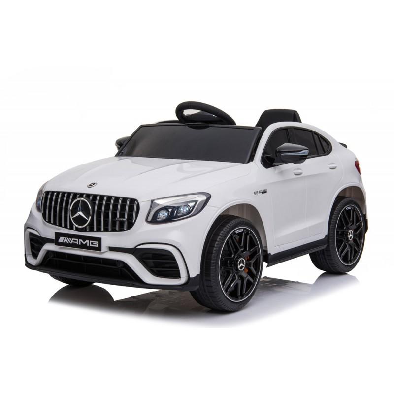 Ηλεκτροκίνητο Παιδικό Αυτοκίνητο Licensed Mercedes Benz GLC 300 4MATIC Coupe 12V Λευκό 563564 Ηλεκτροκίνητα αυτοκίνητα