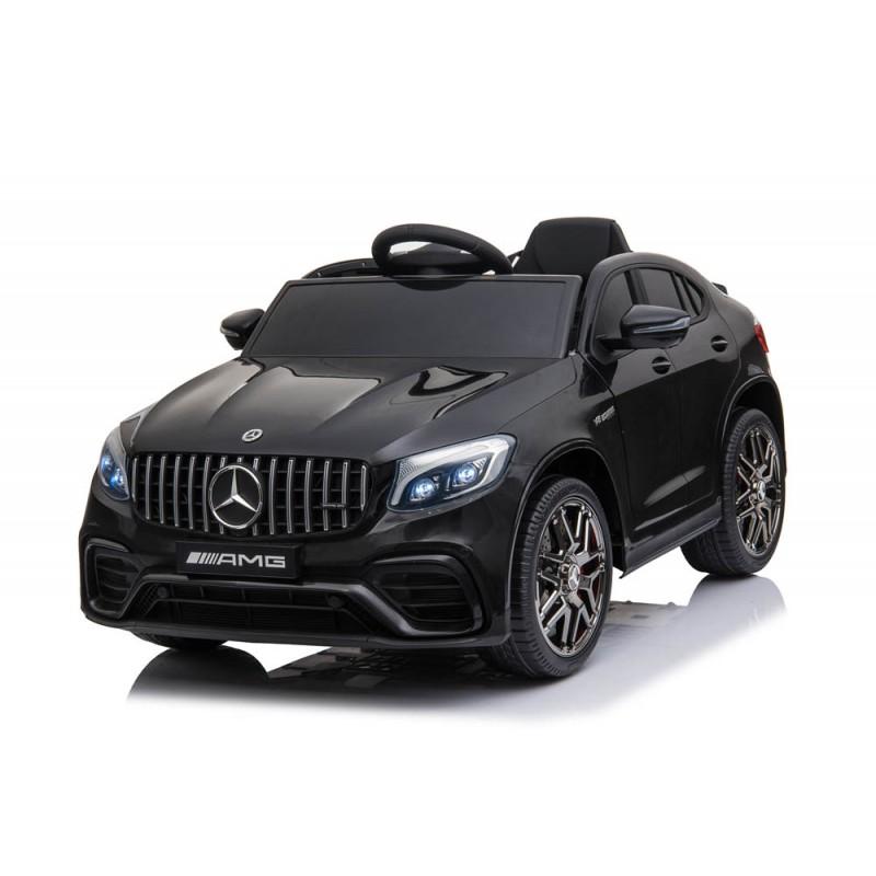 Ηλεκτροκίνητο Παιδικό Αυτοκίνητο Licensed Mercedes Benz GLC 300 4MATIC Coupe 12V Μαύρο 563564 Ηλεκτροκίνητα αυτοκίνητα