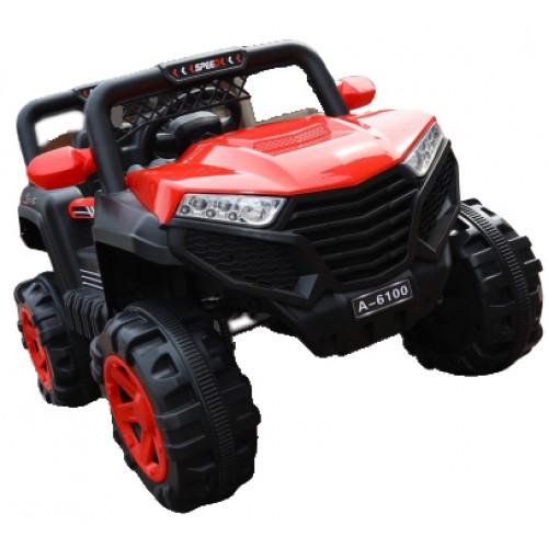 Ηλεκτροκίνητο Παιδικό Αυτοκίνητο τύπου Jeep 4x4 12V σε Κόκκινο Χρώμα 152204