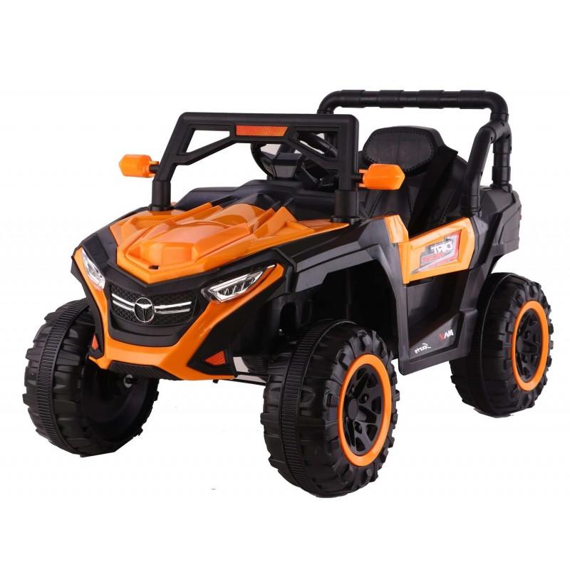 Ηλεκτροκίνητο Παιδικό Αυτοκίνητο Jeep 4x4 12V σε Πορτοκαλί χρώμα 78456O Ηλεκτροκίνητα αυτοκίνητα