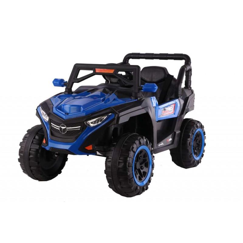 Ηλεκτροκίνητο Παιδικό Αυτοκίνητο Jeep 4x4 12V σε Μπλε χρώμα 78456B Ηλεκτροκίνητα αυτοκίνητα