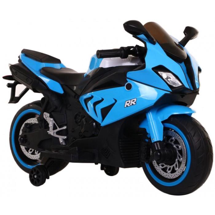 Εκθεσιακή Ηλεκτροκίνητη Μηχανή Τύπου BMW RR 12V Μπλε 2150005