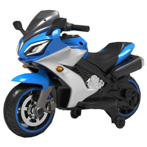 Ηλεκτροκίνητη Παιδική Μηχανή Super Moto 12V σε Μπλε Χρώμα 482270B ΠΑΙΧΝΙΔΙΑ