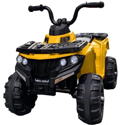 Ηλεκτροκίνητη Γουρούνα Παιδική ATV 6V Κίτρινη Forall 3201 Ηλεκτροκίνητα αυτοκίνητα