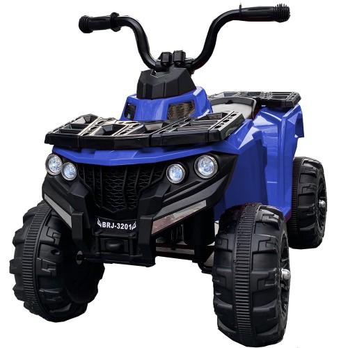 Ηλεκτροκίνητη Γουρούνα Παιδική ATV 6V Μπλε Forall 3201 Ηλεκτροκίνητα αυτοκίνητα