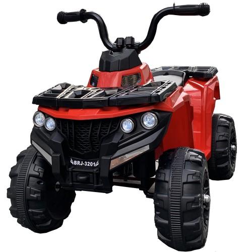 Ηλεκτροκίνητη Γουρούνα Παιδική ATV 6V Κόκκινη Forall 3201 Ηλεκτροκίνητα αυτοκίνητα
