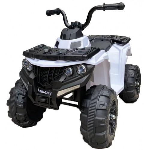Ηλεκτροκίνητη Γουρούνα Παιδική ATV 6V Λευκή Forall 3201 Ηλεκτροκίνητα αυτοκίνητα