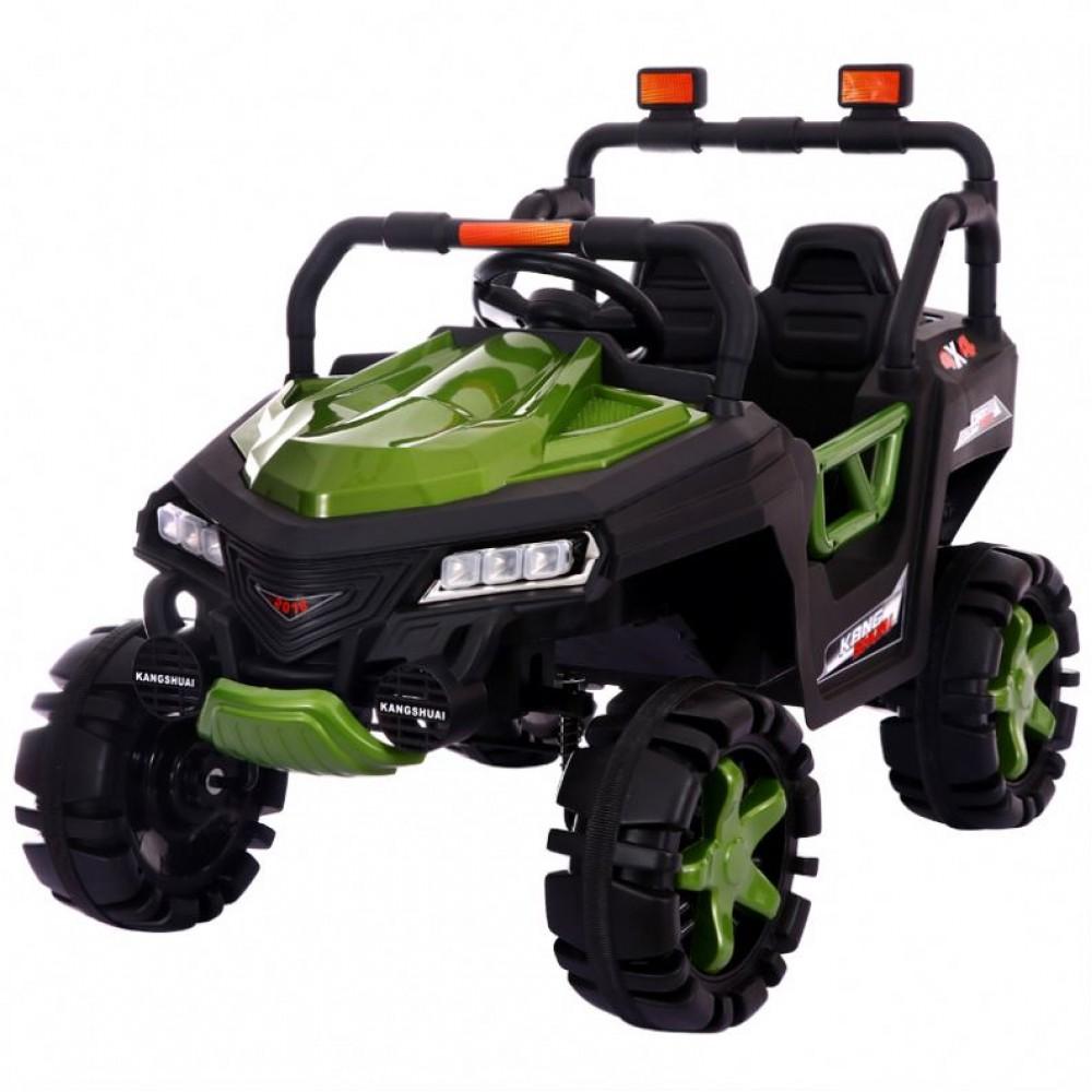 Ηλεκτροκίνητο Αυτοκίνητο 12V SUV 4x4 Jeep για Παιδιά Πράσινο 3360004-2R