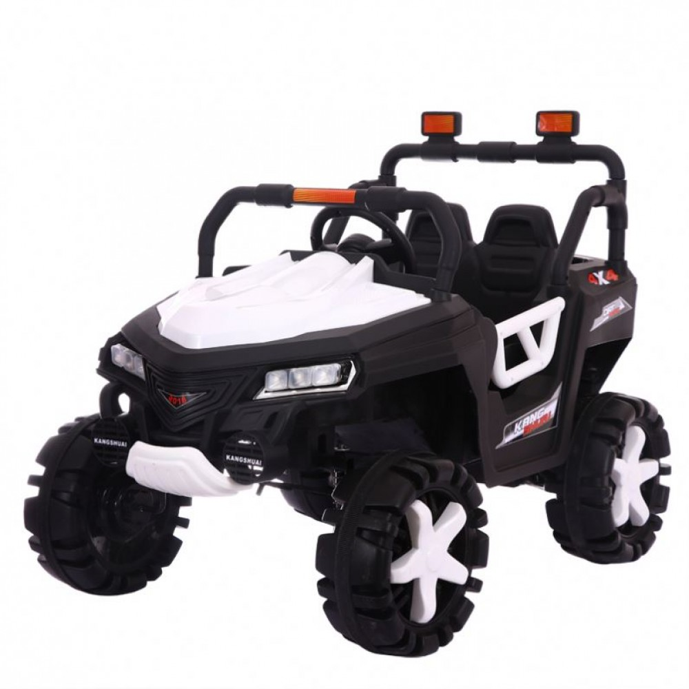 Ηλεκτροκίνητο Αυτοκίνητο 12V SUV 4x4 Jeep για Παιδιά Λευκό 3360004-2R