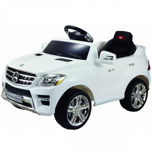Ηλεκτροκίνητο Αυτοκίνητο Mercedes 12V Λευκό ML350 AMG Ηλεκτροκίνητα αυτοκίνητα
