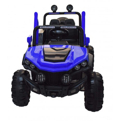 Ηλεκτροκίνητο Αυτοκίνητο 12V Buggy Mountain Jeep για Παιδιά Μπλε 3750211-2R Ηλεκτροκίνητα αυτοκίνητα