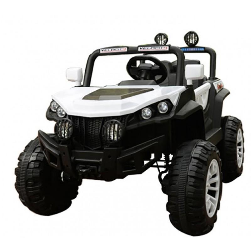 Ηλεκτροκίνητο Αυτοκίνητο 12V Buggy Mountain Jeep για Παιδιά λευκό 3750211-2R Ηλεκτροκίνητα αυτοκίνητα