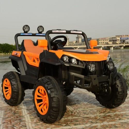 Ηλεκτροκίνητο Αυτοκίνητο 12V Buggy Mountain Jeep για Παιδιά Πορτοκαλί 3750211-2R Ηλεκτροκίνητα αυτοκίνητα
