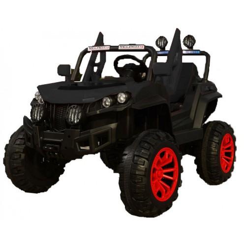 Ηλεκτροκίνητο Αυτοκίνητο 12V Buggy Mountain Jeep για Παιδιά Μαύρο 3750211-2R Ηλεκτροκίνητα αυτοκίνητα