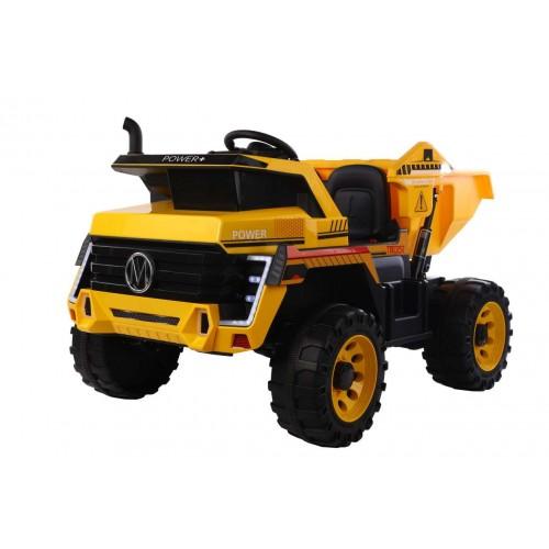 Ηλεκτροκίνητο Παιδικό Φορτηγό Με ηλεκτρική καρότσα 12V σε Κίτρινο 3770070 Ηλεκτροκίνητα αυτοκίνητα