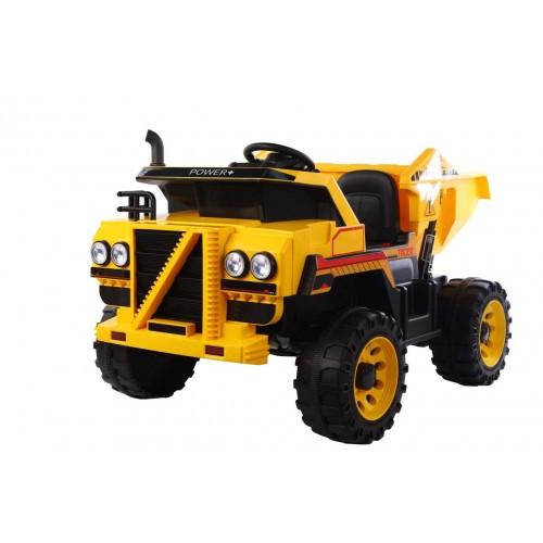 Ηλεκτροκίνητο Παιδικό Φορτηγό Με ηλεκτρική καρότσα 12V σε Κίτρινο 3770071 Ηλεκτροκίνητα αυτοκίνητα