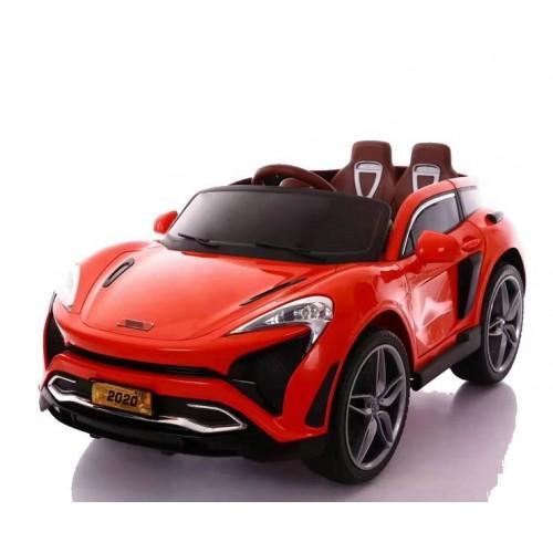 Ηλεκτροκίνητο Παιδικό Αυτοκίνητο Τύπου Porsche 12V με δερμάτινα καθίσματα και ελαστικά τύπου Αυτοκινήτου σε Κόκκινο χρώμα 133820 Ηλεκτροκίνητα αυτοκίνητα