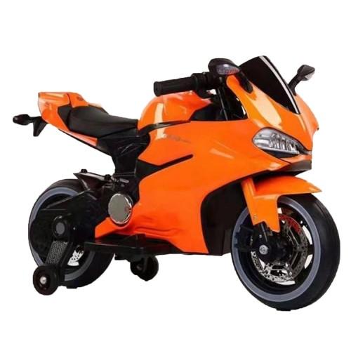 Ηλεκτροκίνητη μηχανή Τύπου Ducati 1628PERFECT 6V σε Πορτοκαλι Forall 3930026A ΠΑΙΧΝΙΔΙΑ