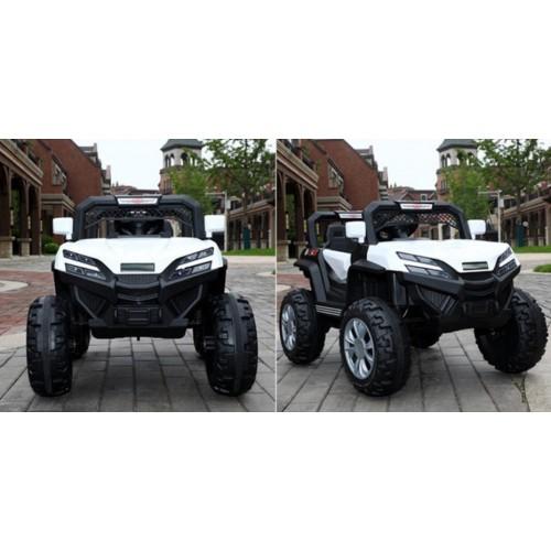 Ηλεκτροκίνητο Παιδικό Αυτοκίνητο 12V Mountain Jeep Buggy σε Λευκό 3980007 Ηλεκτροκίνητα αυτοκίνητα