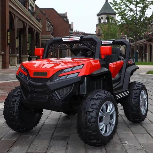 Ηλεκτροκίνητο Παιδικό Αυτοκίνητο 12V Mountain Jeep Buggy σε Κόκκινο 3980007 Ηλεκτροκίνητα αυτοκίνητα
