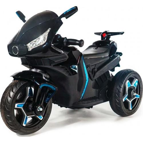 Ηλεκτροκίνητη Παιδική Μηχανή 12V σε Μαύρο Χρώμα 6688 Forall ΠΑΙΧΝΙΔΙΑ
