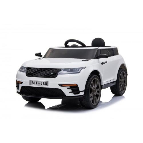 OEM Ηλεκτροκίνητο Αυτοκίνητο Τύπου RANGE ROVER 12V με R-C Λευκό BJ688W Ηλεκτροκίνητα αυτοκίνητα