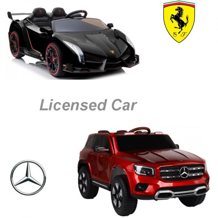 Licensed Car