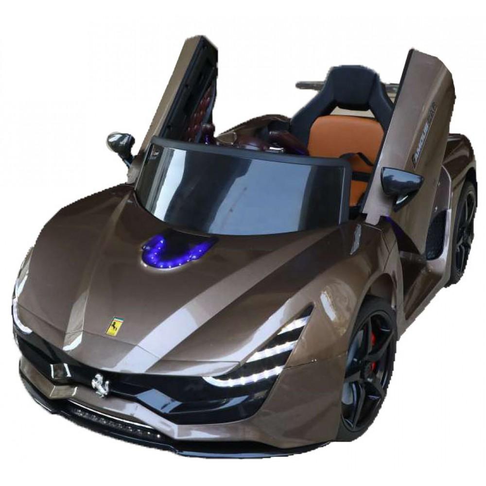 Ηλεκτροκίνητο Παιδικό Αυτοκίνητο Τύπου Ferrari 12V  Μπρονζε HZ7587
